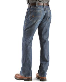 Ariat Men's Flint Fire Resistant Work Denim, Denim, hi-res