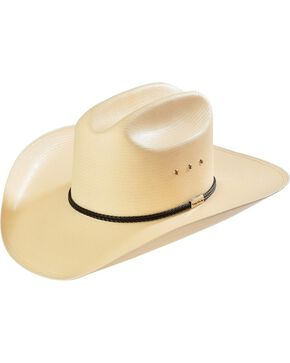 Resistol George Strait Rides Away Straw Cowboy Hat, Natural, hi-res