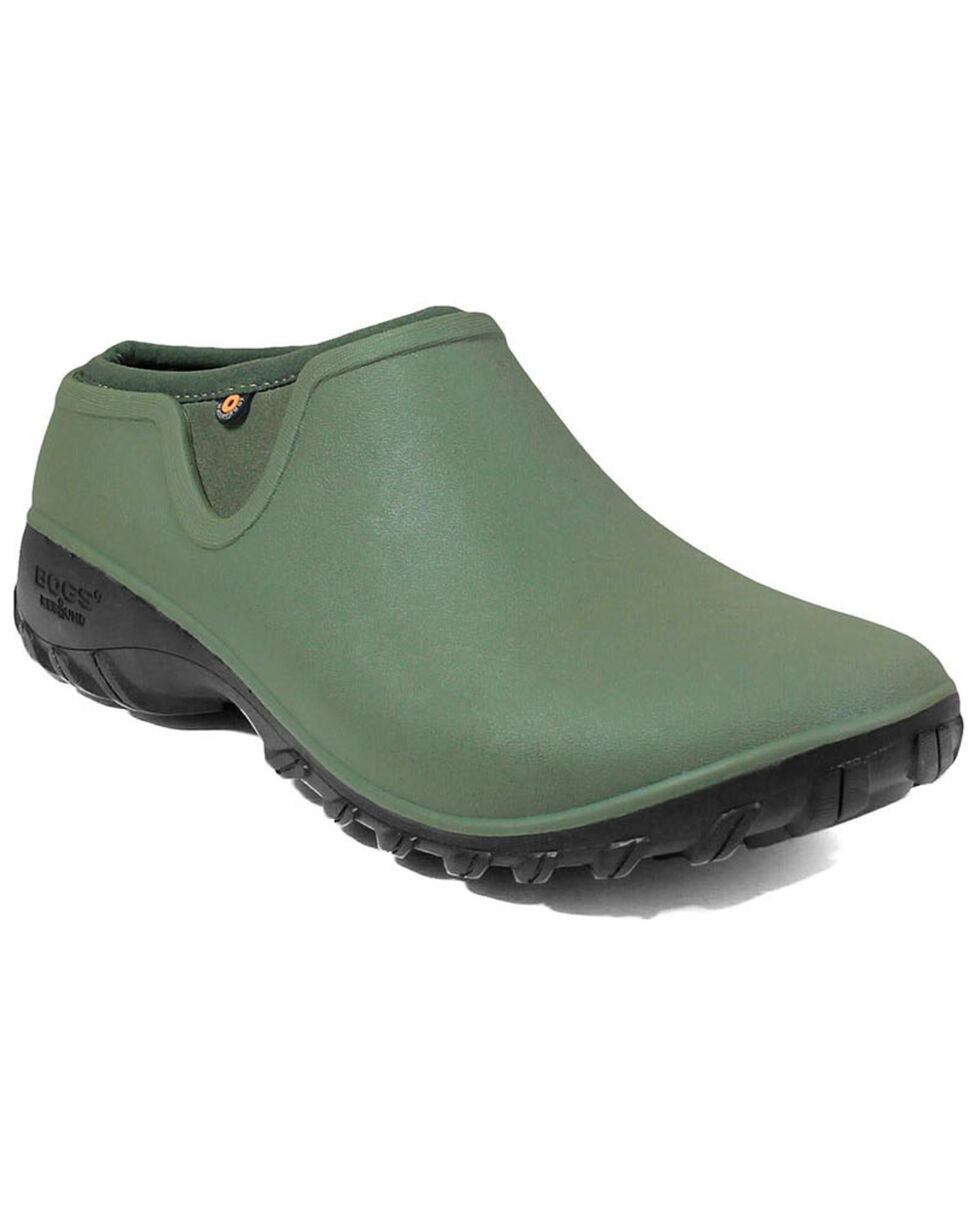 Bogs Women's Sauvie Clog Shoes - Round Toe, Sage, hi-res