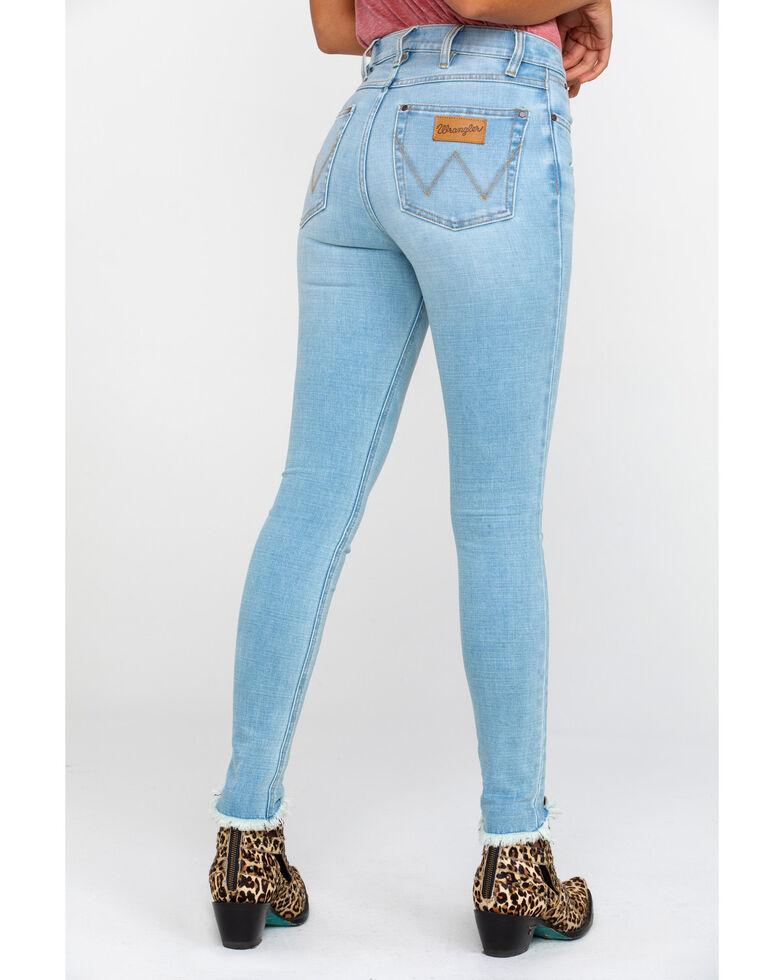 Wrangler Modern Women's Heritage High Rise Skinny Jeans, Light Blue, hi-res
