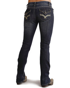 Stetson Women's 818 Contemporary Boot Cut Jeans - Plus, Denim, hi-res