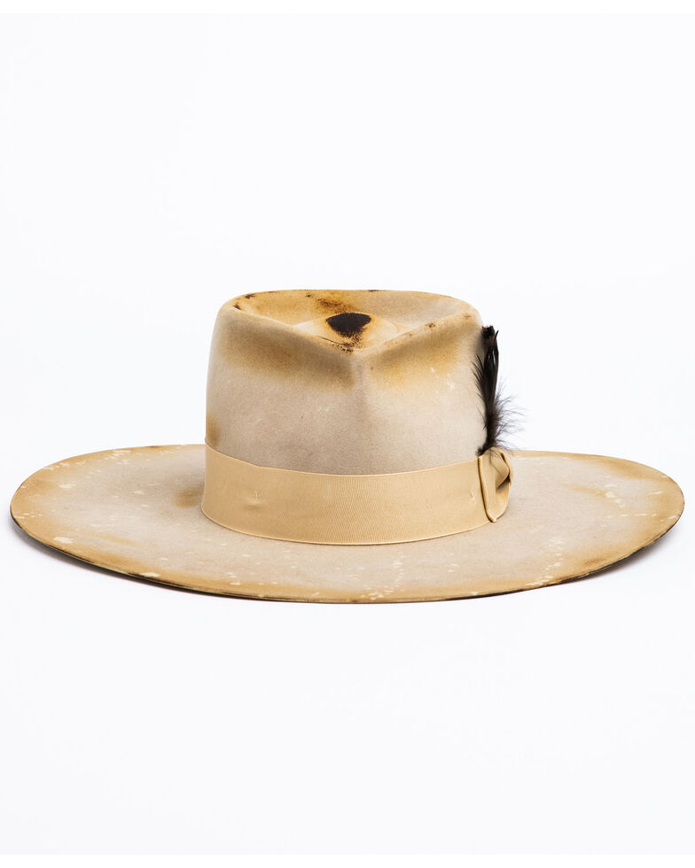 Atwood Hat Co. Women's 5X Wildcard Tear Drop Wool Western Hat , No Color, hi-res