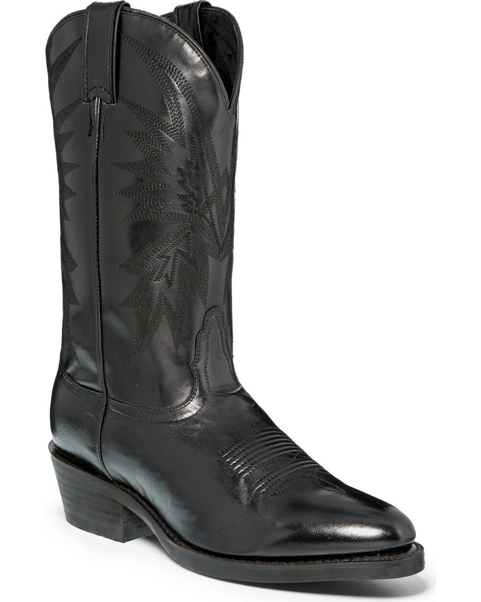 Nocona Men's Caballo Round Toe Western Boots, Black, hi-res