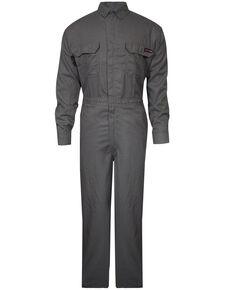 Tecgan Men's Grey FR Deluxe Work Coveralls , Grey, hi-res