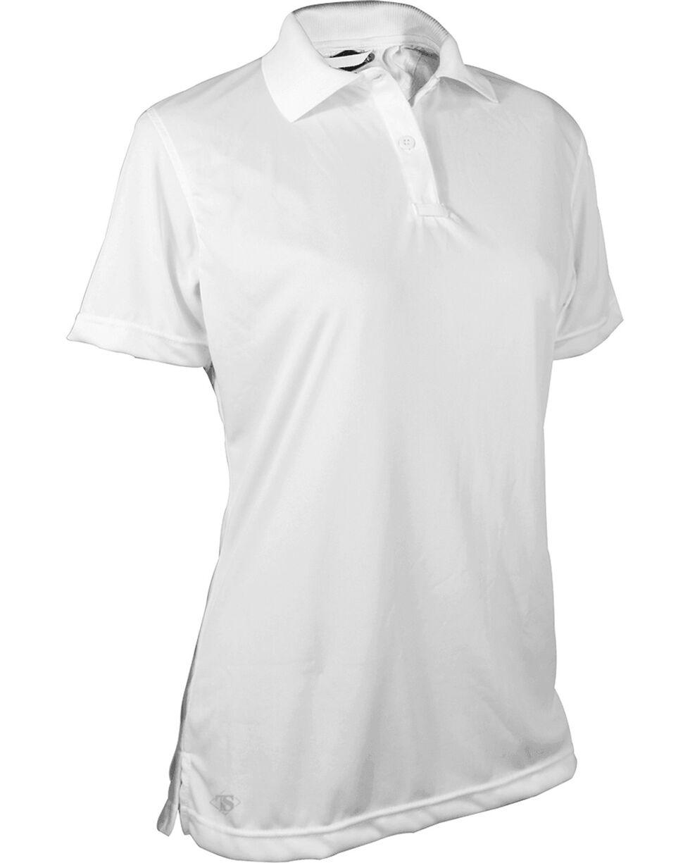 Tru-Spec Women's White 24-7 Performance Polo , White, hi-res