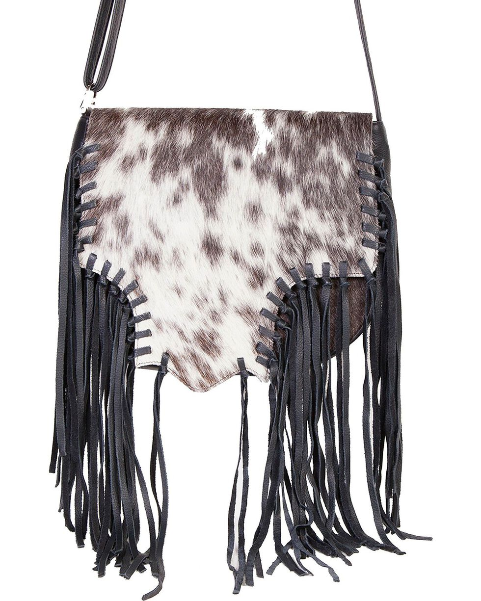 Scully Women's Fringe Hair Handbag, Animal Prt, hi-res