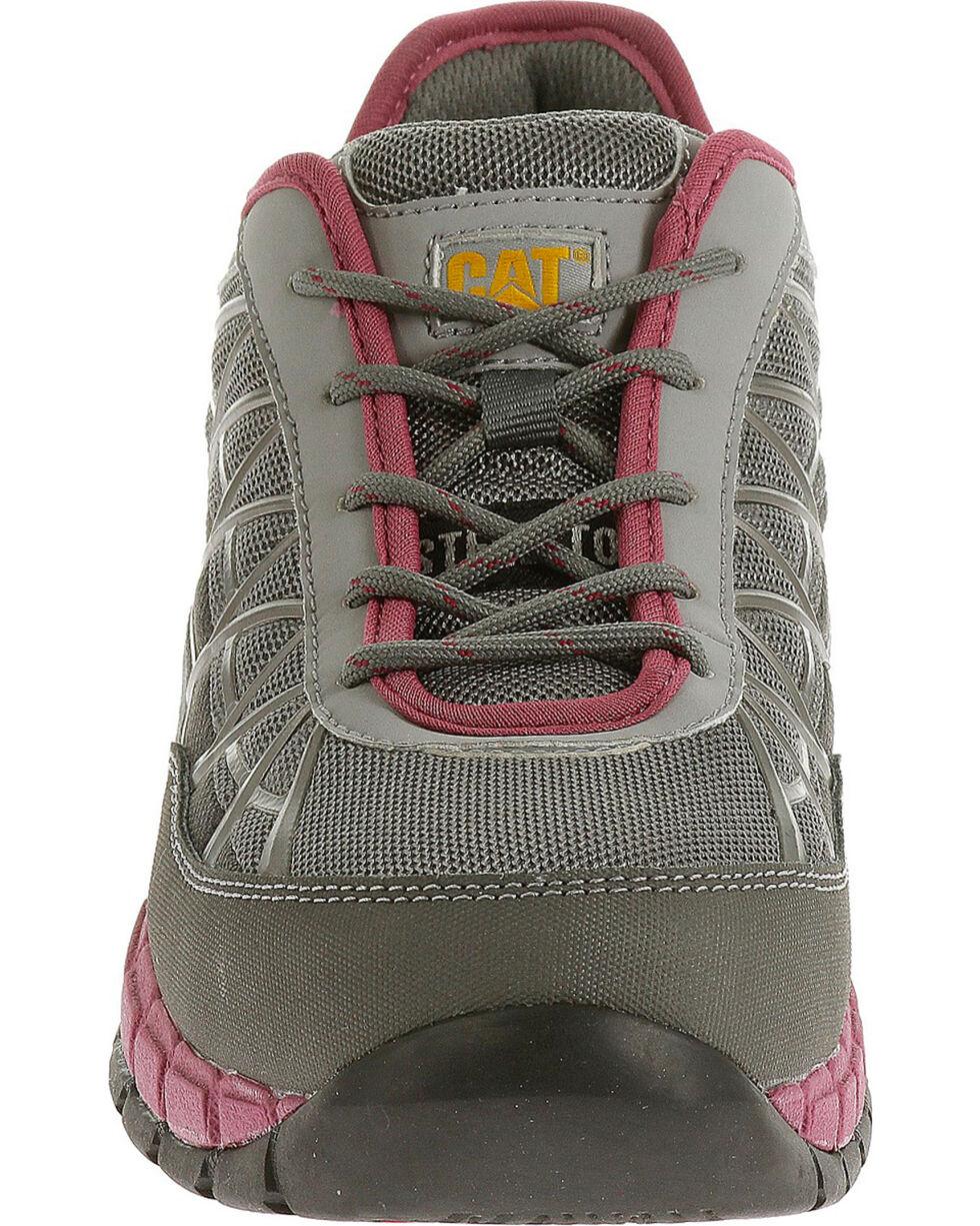 Caterpillar Women's Grey Connexion Work Shoes - Steel Toe , Grey, hi-res