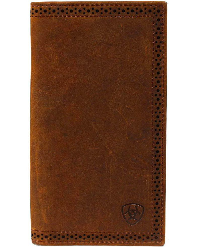 Ariat Perforated Edge Rodeo Wallet Boot Barn