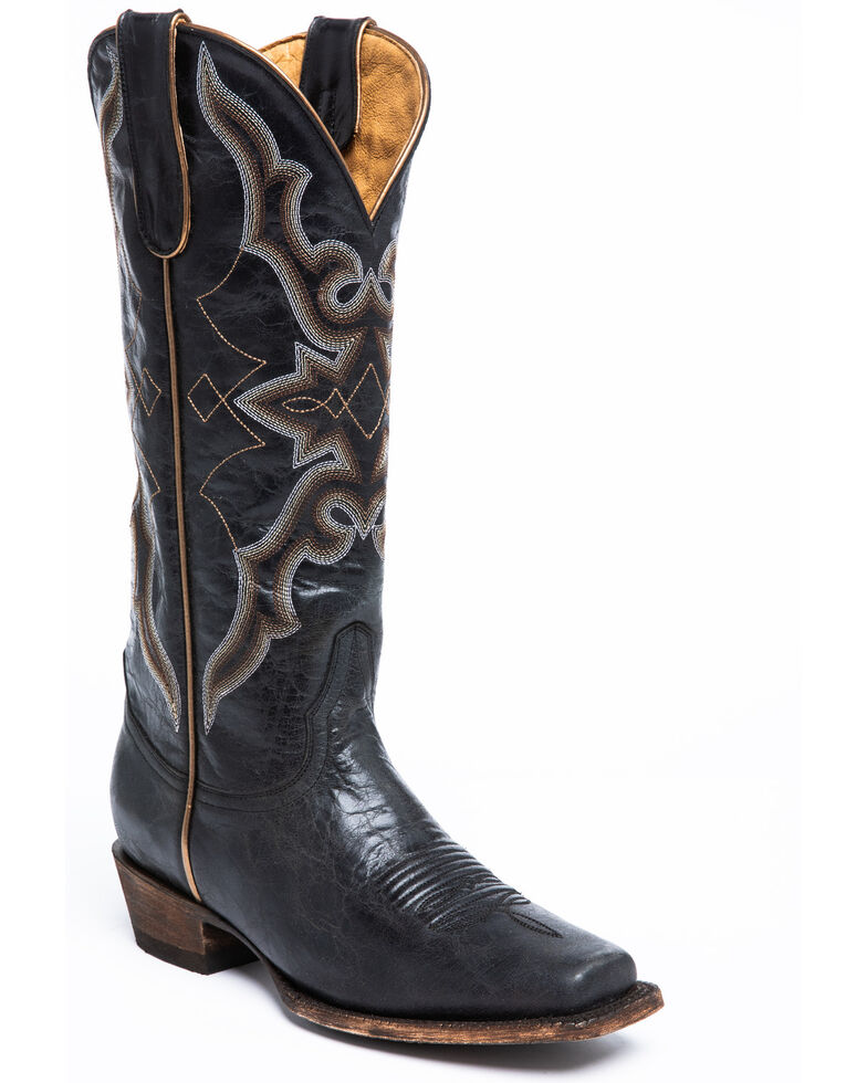 Idyllwind Women's Relic Western Boots - Narrow Square Toe, Black, hi-res