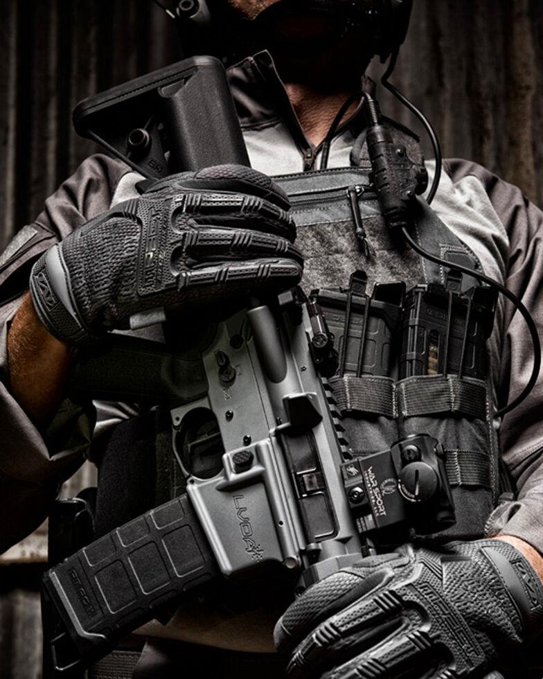 Mechanix Wear M-Pact Wolf Grey Gloves , Grey, hi-res