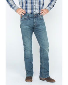 Moonshine Spirit Men's Medium Straight Jeans, Indigo, hi-res