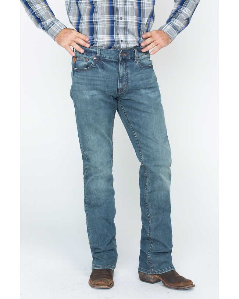 Moonshine Spirit Men's Medium Straight Jeans, Indigo, hi-res