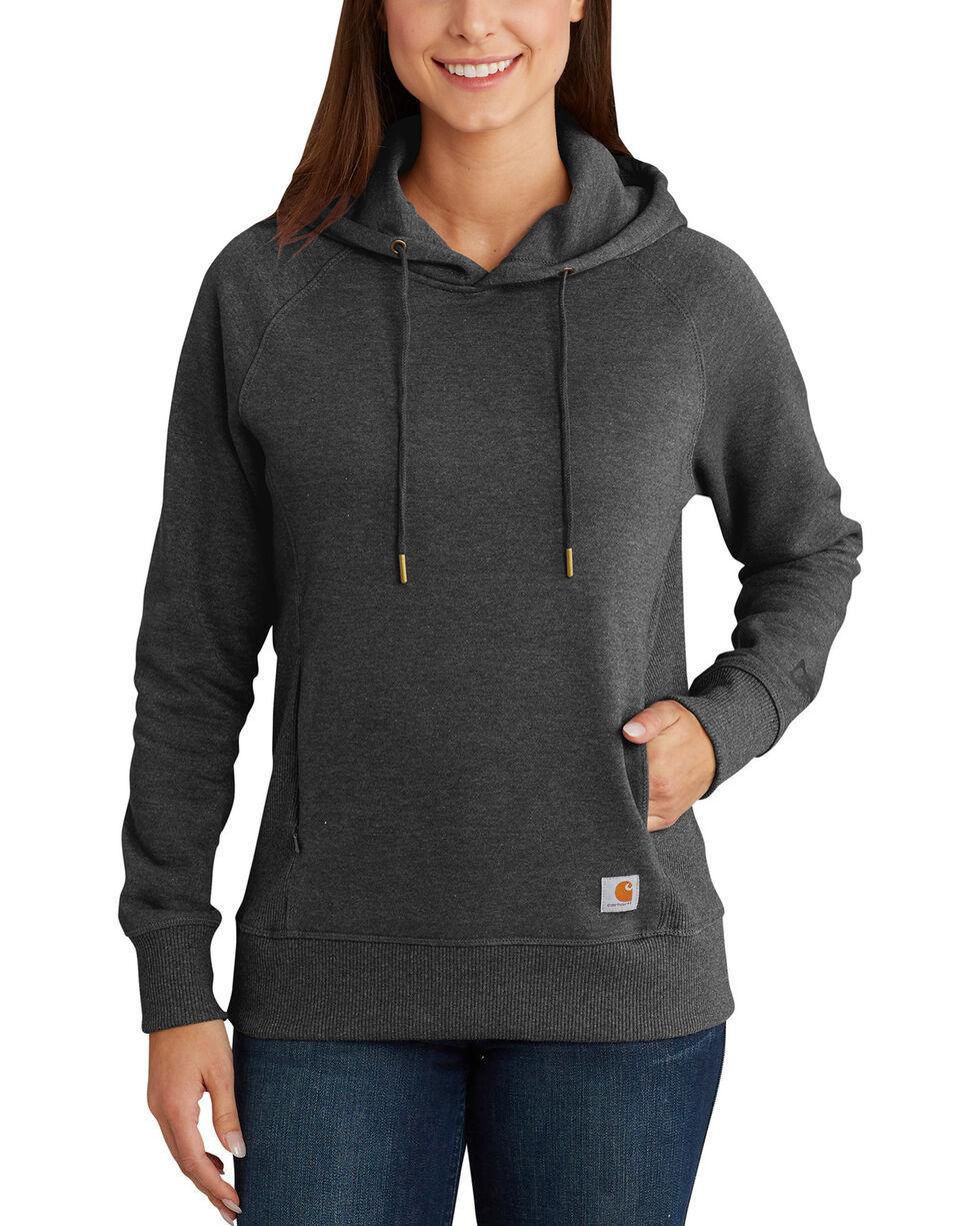 Carhartt Women's Avondale Pullover Sweatshirt , Charcoal, hi-res