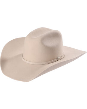 Justin Men's Silver Belly 3X Dixon Cowboy Hat , Silver Belly, hi-res