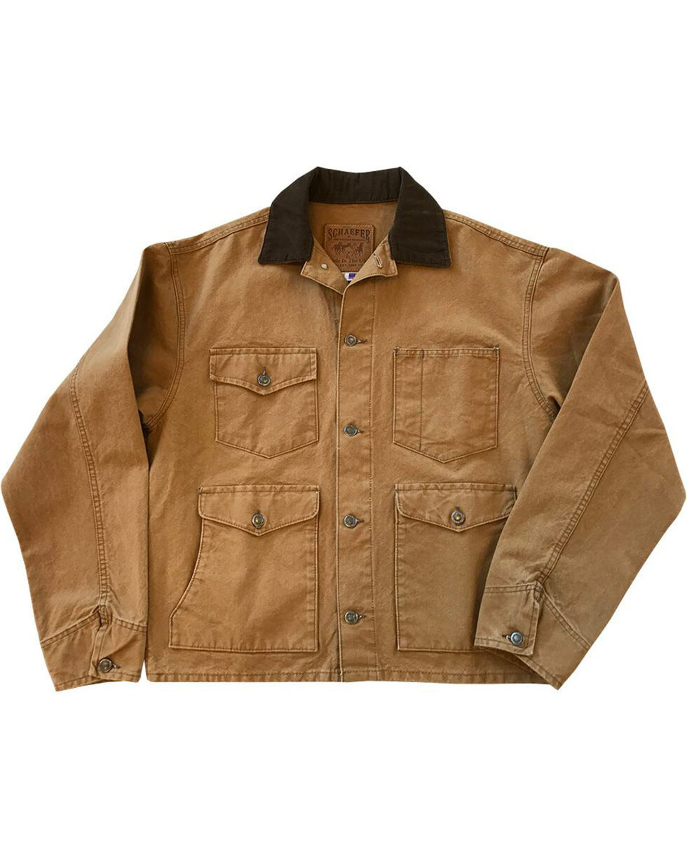 Schaefer Outfitter Men's Saddle Vintage Brush Jacket - 2XL, Brown, hi-res