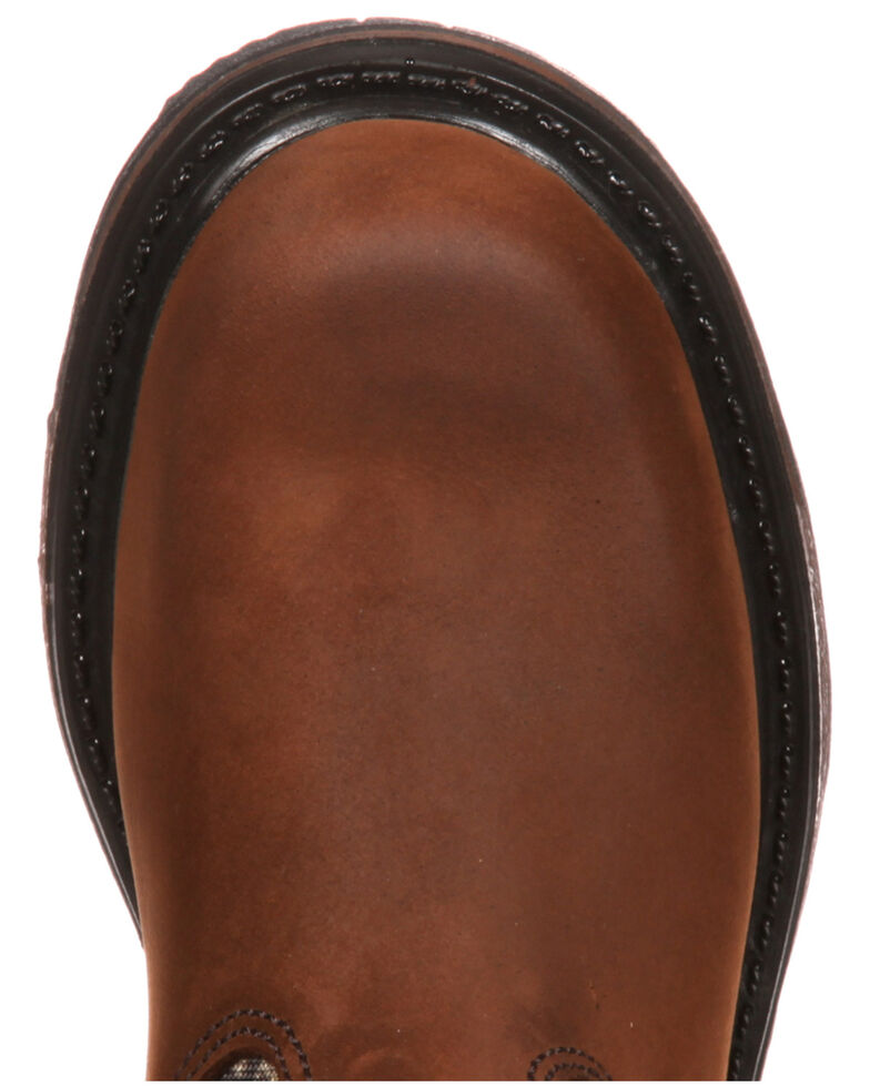 Rocky Kid's Ride Wellington Boots, Brown, hi-res