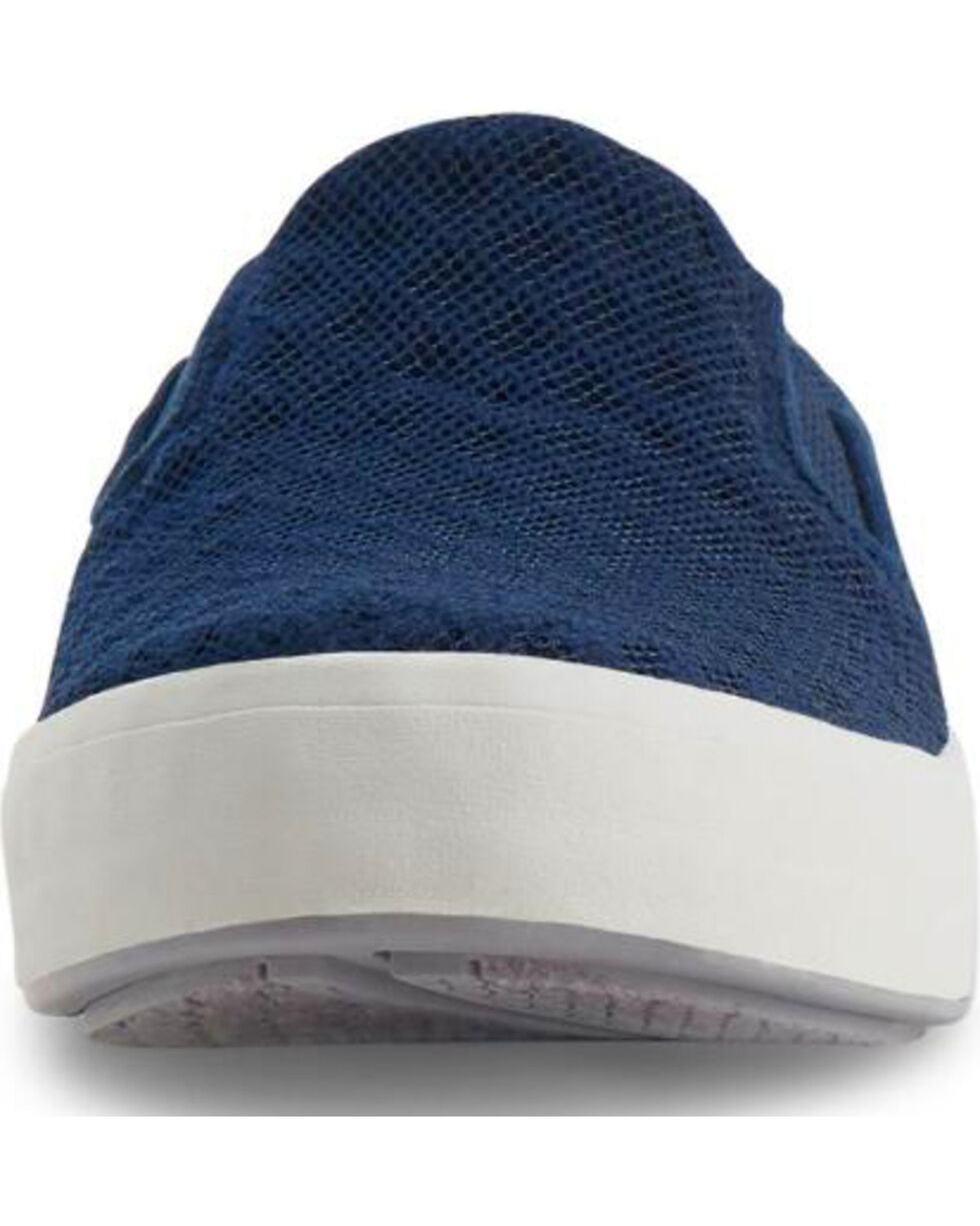Eastland Women's Navy Breezy Slip-On Sneakers , Navy, hi-res