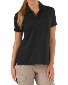 5.11 Tactical Women's Trinity Polo Shirt, Black, hi-res