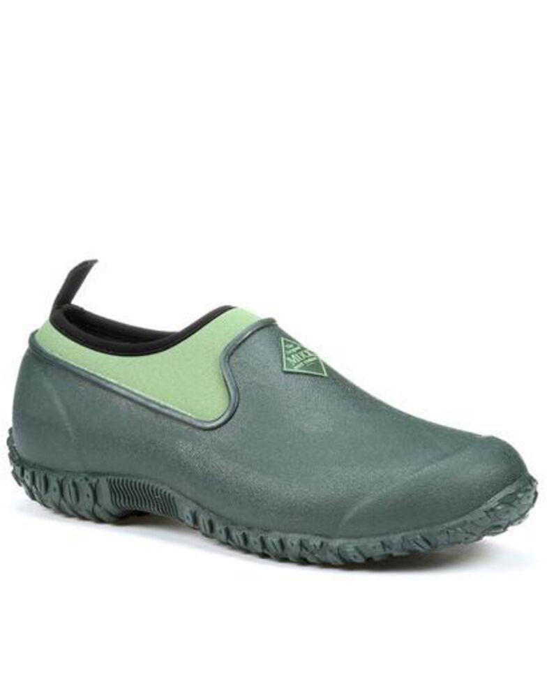 Muck Boots Women's Muckster II Flats - Round Toe, Green, hi-res