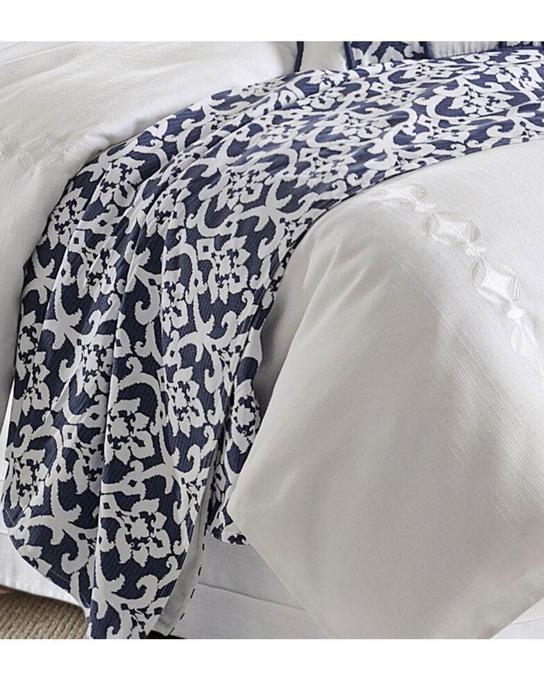 HiEnd Accents Kavali Floral Jacquard Duvet - Super King , Multi, hi-res
