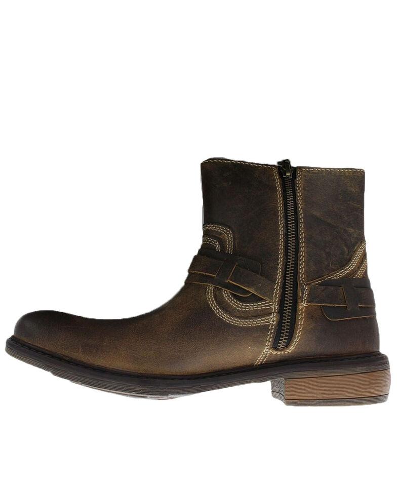 Evolutions Men's Native II Zipper Boots - Square Toe, Tan, hi-res
