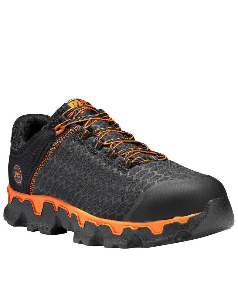 Timberland Pro Men's Powertrain Sport Work Shoes - Aluminum Toe, Black, hi-res