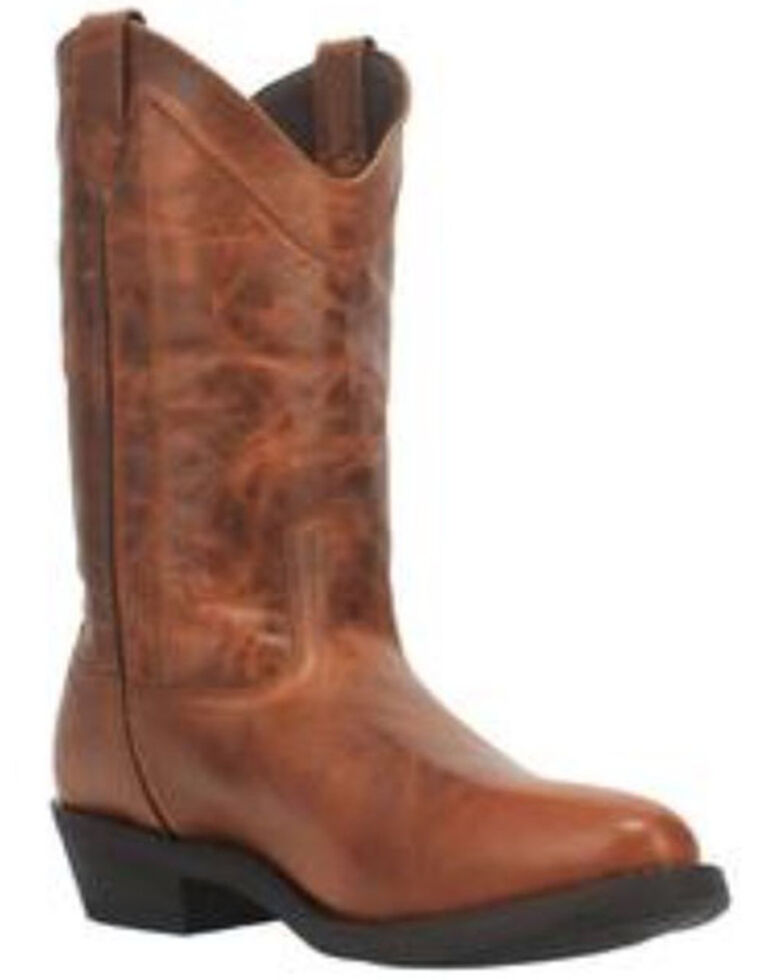 Laredo Men's Cy Western Boots - Round Toe, Rust Copper, hi-res