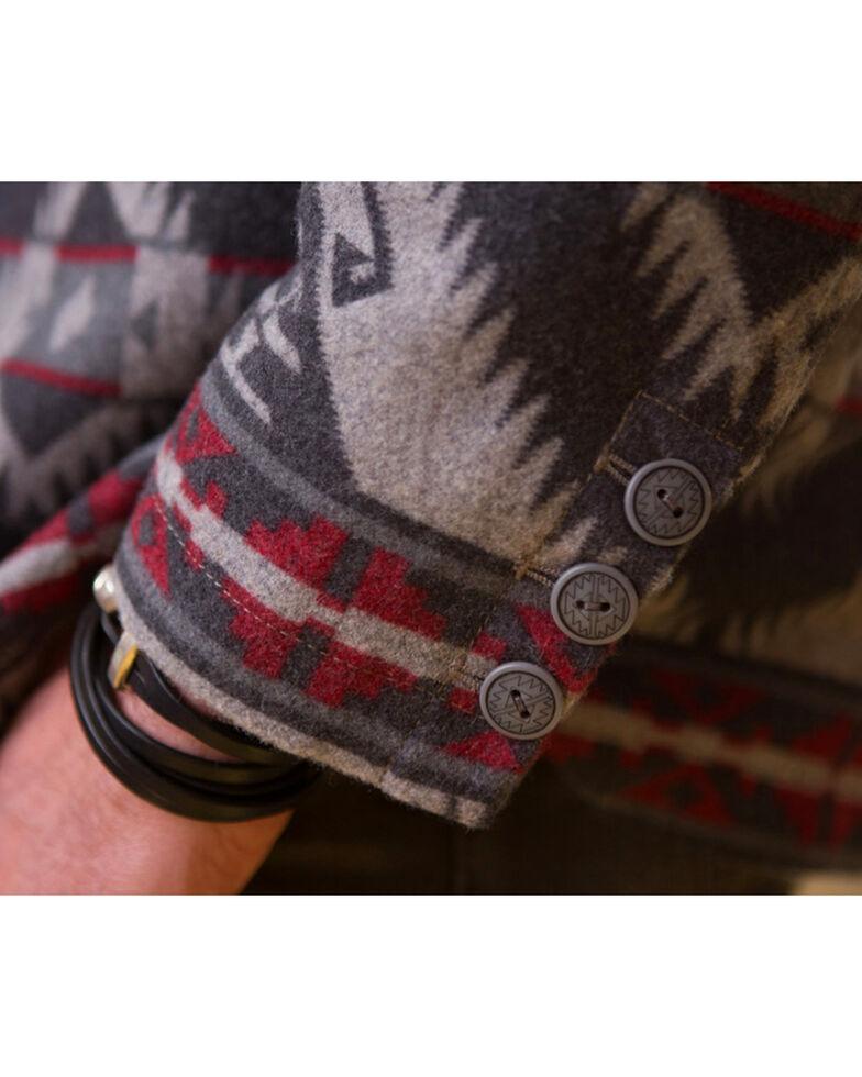 Ryan Michael Men's Red Mountain Wool Jacket, Grey, hi-res