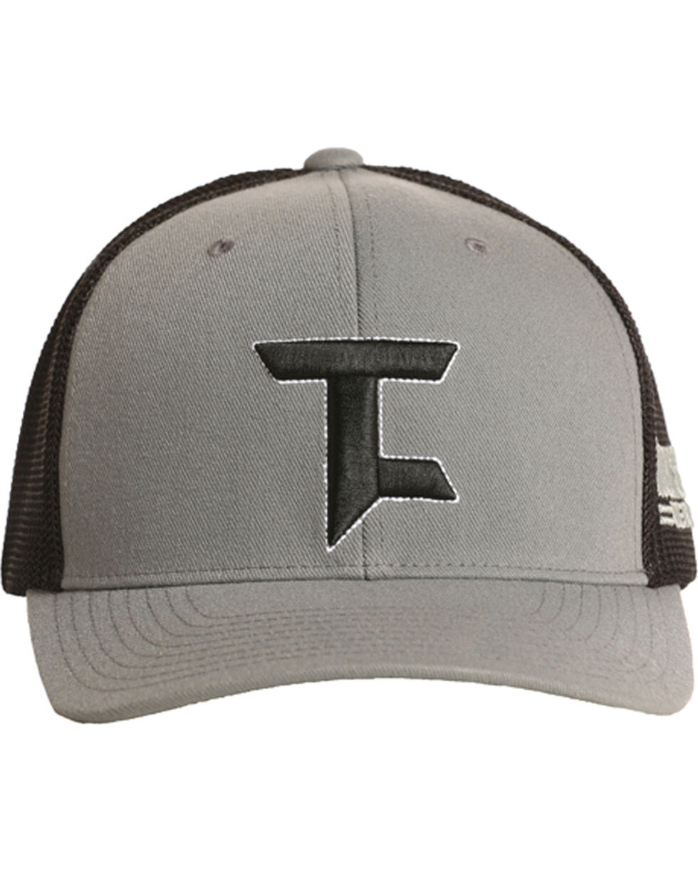Tuf Cooper Men's Two Tone Logo Cap, Grey, hi-res