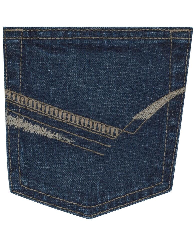 Wrangler 20X Boys' Hampton Vintage Bootcut Jeans , Blue, hi-res