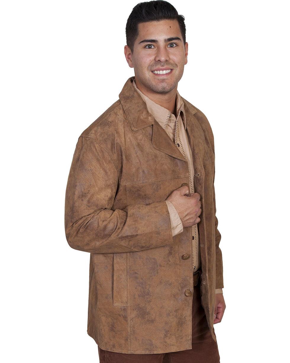 Scully Men's Boar Suede Car Coat, Maple, hi-res
