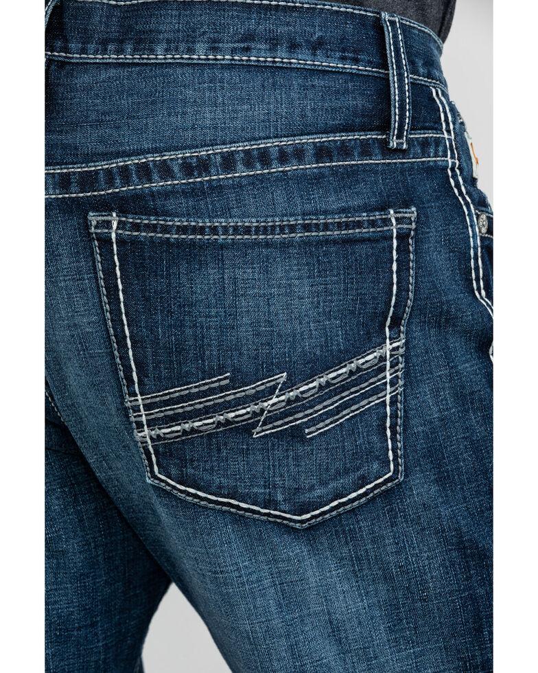Cinch Men's Ian Dark Stone Mid Slim Boot Jeans , Indigo, hi-res