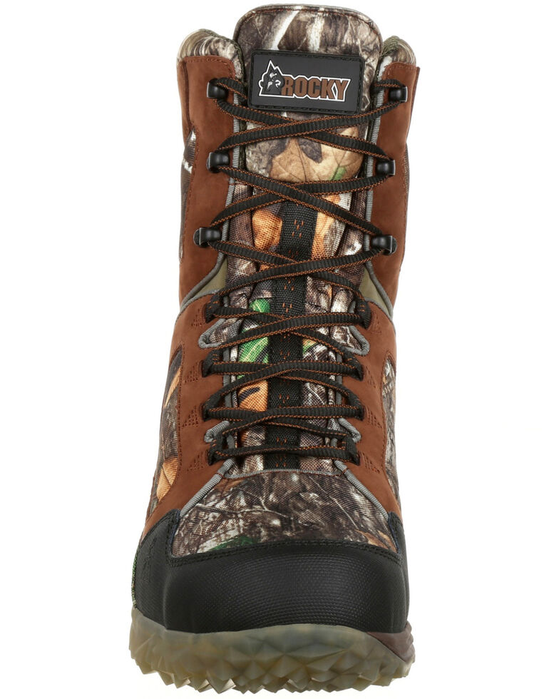 bd06cd0a846 Rocky Men's Broadhead EX Insulated Waterproof Outdoor Boots - Round Toe