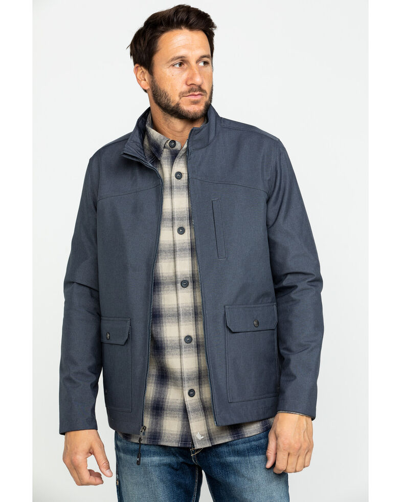 Cody James Core Men's Almore Softshell Bonded Jacket , Navy, hi-res