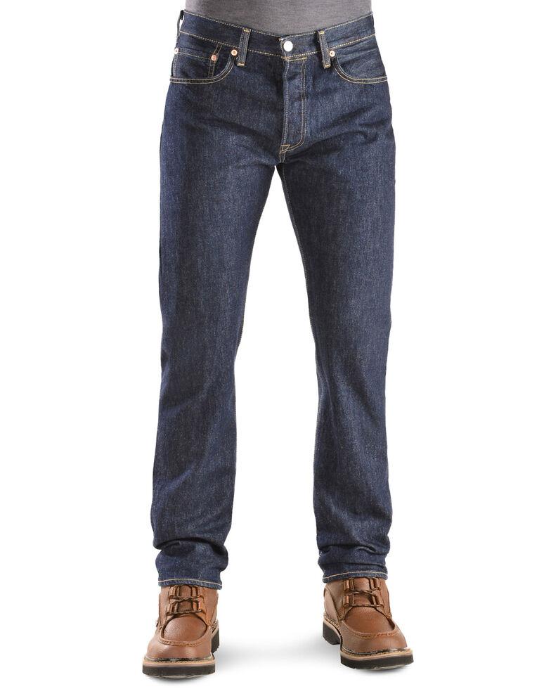 Levi's Men's Rinsed 501 Original  Jeans, Rinsed, hi-res
