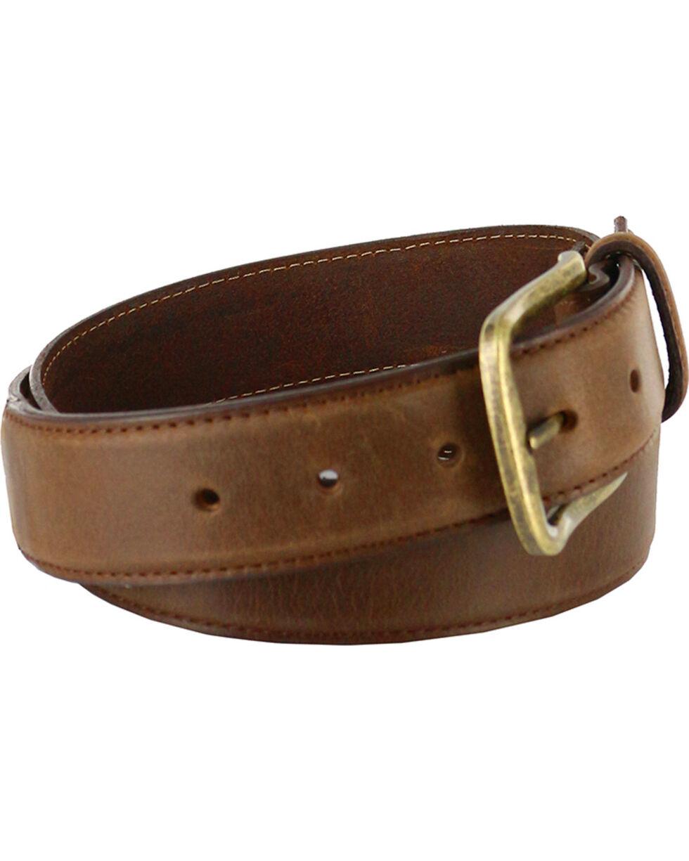 Cody James® Men's Classic Genuine Leather Belt, Tan, hi-res