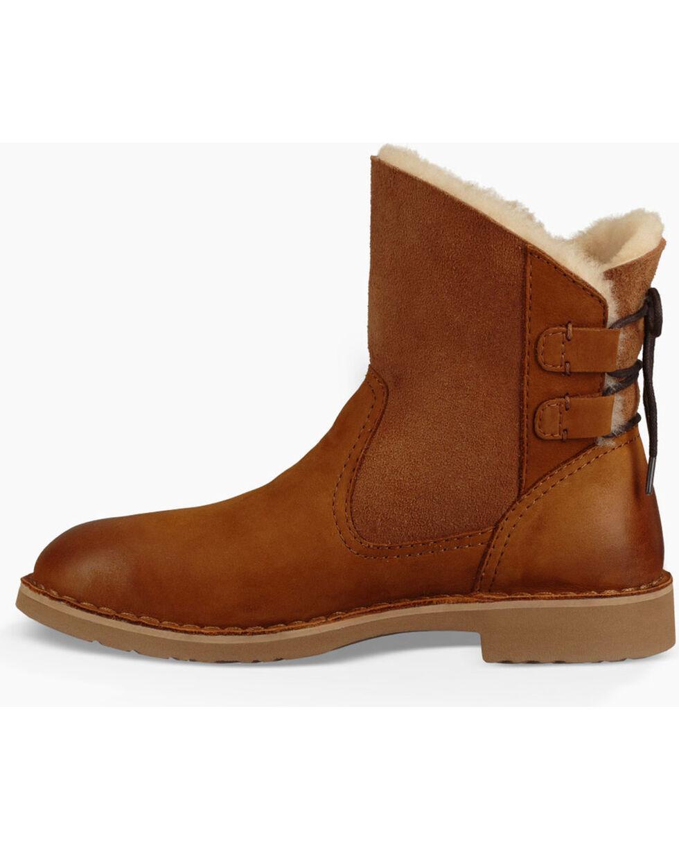 UGG® Women's Naiyah Classic Short Boots, Chestnut, hi-res