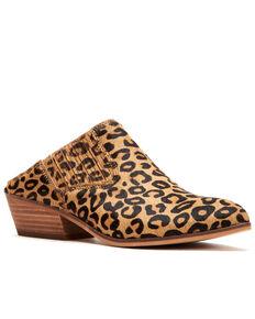 Frye & Co. Women's Rubie Leopard Mule Shoes - Medium Toe, Leopard, hi-res