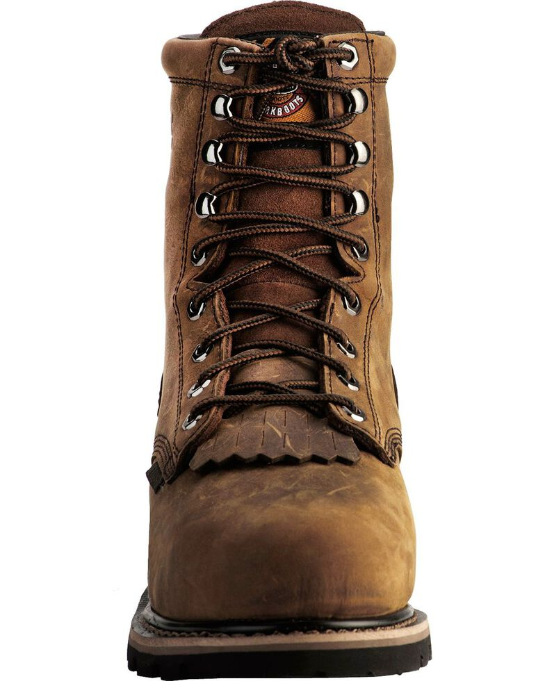 Justin Men S Wyoming Waterproof 8 Quot Lace Up Work Boots