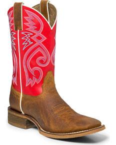 "Nocona Women's 11"" Cowpoke Vintage Western Boots, Tan, hi-res"