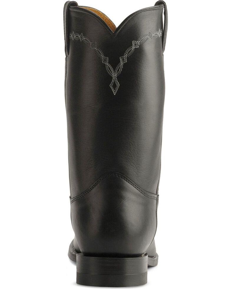 Justin Men's Classic Roper Boots, Black, hi-res