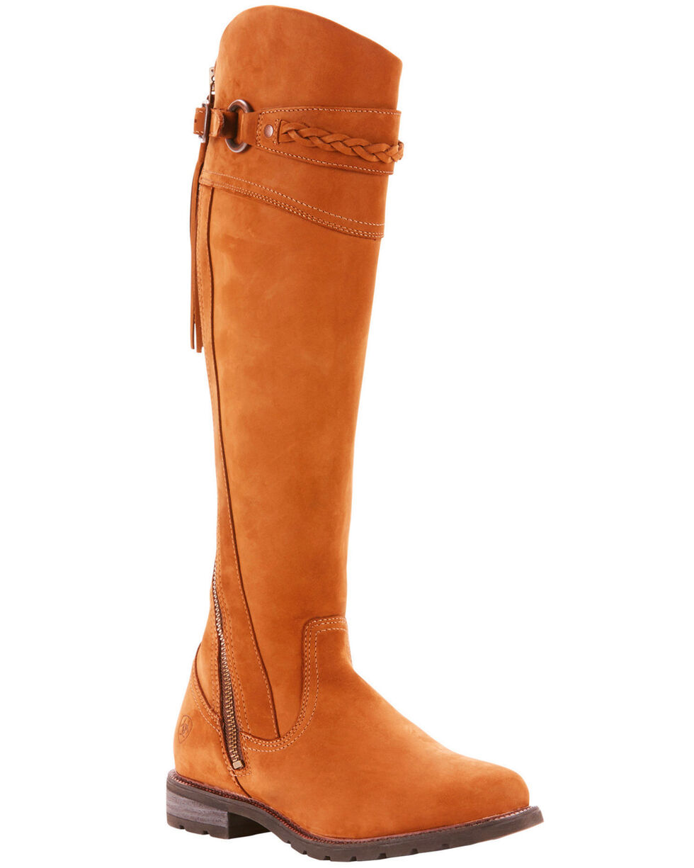 Ariat Women's Chestnut Alora Riding Boots - Round Toe , Chestnut, hi-res