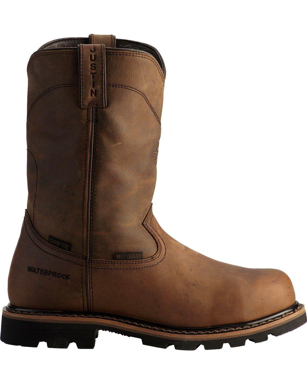 Justin Men's Wyoming Waterproof