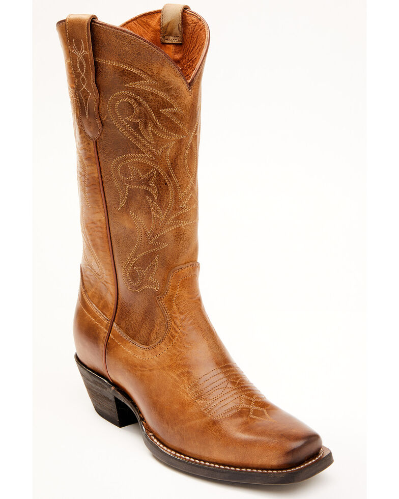 Idyllwind Women's Tumbleweed Performance Western Boots - Wide Square Toe, Tan, hi-res