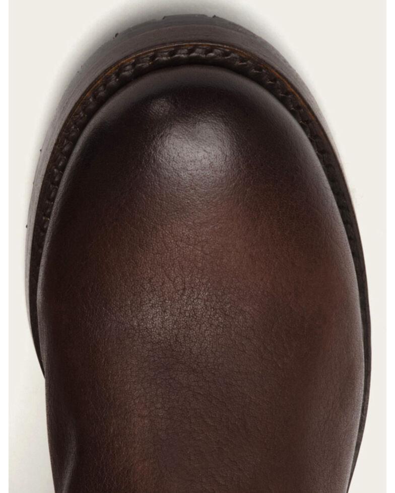 a75b713f3797 Zoomed Image Frye Women's Dark Brown Natalie Short Engineer Boots - Round  Toe, Dark Brown, hi