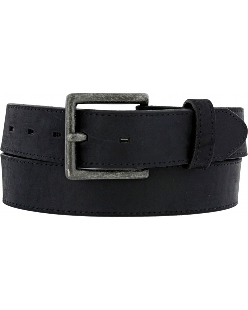 Chippewa Men's Black Sycamore Leather Belt , Black, hi-res