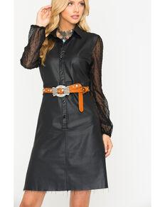 Tractr Blu Women's Black Steel Dress, Black, hi-res