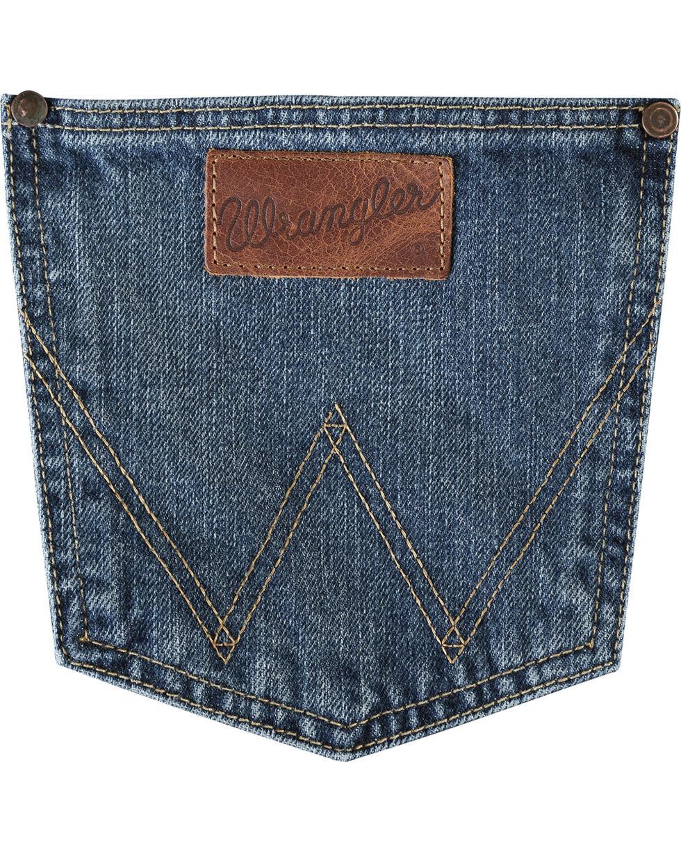 Wrangler Retro Men's Slim Fit Boot Cut Jeans, Indigo, hi-res