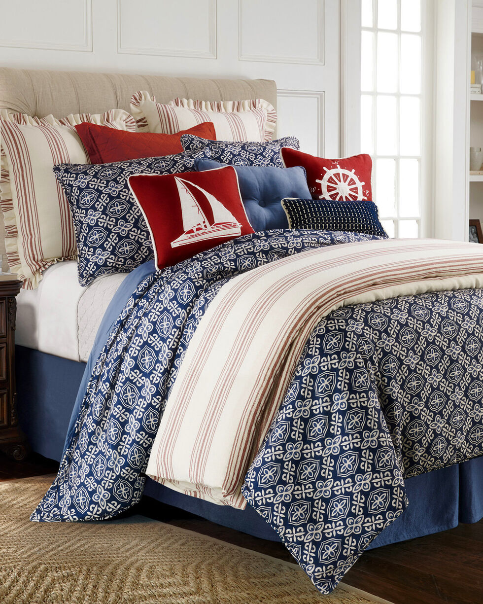 HiEnd Accents Monterrey Queen Duvet Cover Set , Multi, hi-res