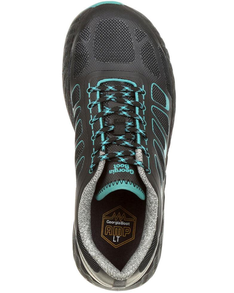 Georgia Boot Women's ReFLX Athletic Work Shoes - Alloy Toe, Black, hi-res